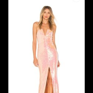 NBD sequin gown from REVOLVE
